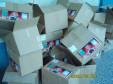 Geschafft! Alle Kartons sind leer
