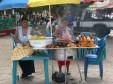 Typischer Essstand in Nicaragua