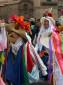 Weihnachtsprozession in Cusco zur Feier Geburt Christus