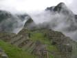Machupicchu, im Hintergrund der aufragende Sporn des Waynapicchu